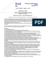 Talidomida Res Ms Anvisa Rdc 11