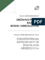 Državno pravni razvitak Bosne i Hercegovine - dr. Omer Ibrahimagić