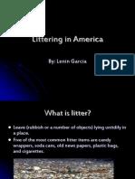 Littering in America (Lenin Garcia)