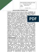 Fallo Justicia Córdoba