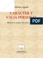 Aguilo Alfonso - Caracter Y Valia Personal