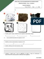 002_B - Ficha de trabalho - Textura das rochas magmáticas