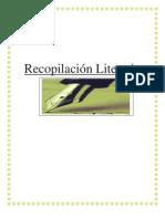 Recopilación Literaria