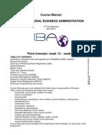 IBA Course Manual Bachelor 3 Trimester 3 2012-2013