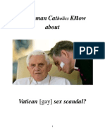 Do RC's Know about Vatican Sex Scandal?
