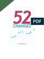 52 cambios