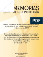 Memorias de Gerontología (1)
