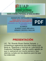 6.- Reactivos e Insumos en Lab de AP Grupo F
