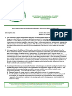 Alliance for Global Food Security Statement on Food Aid Reform