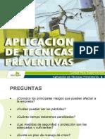 Aplicacion de Tecnicas Preventivas