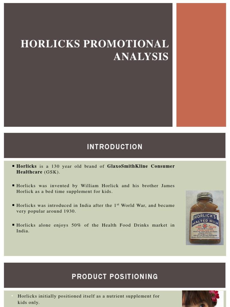 horlicks tagline