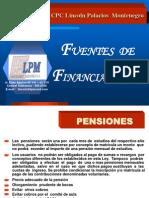 6.- Fuentes de Financiamiento