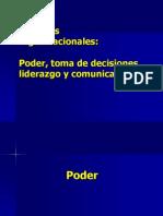 4. Procesos organizacionales poder, toma de decisiones, comunicación y liderazgo. (1)