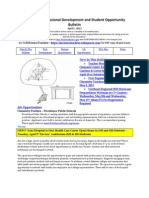 RI Science Professional Development and Student Opportunity Bulletin 4-5a-13