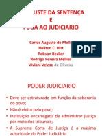DESAJUSTE DA SENTENÇA  slide