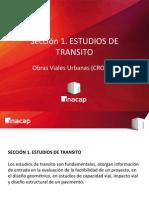 1-. Obras Viales Urbanas (CRO101) Estudio de Transporte