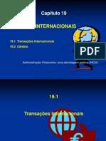 Cap 19 Finanças Internacionais