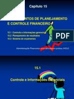 Cap 15 Planejam e Controle Financeiro