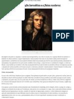 Isaac Newton a filosofia hermética e a física moderna  José Tadeu Arantes (Kabir)