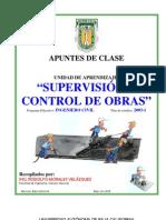 supervisión y control de obras