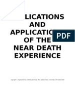 Implications and Applications of the Near Death Experience