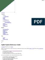 Sqlite3 Quick Reference Guide - TechMajik