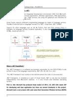 VBdotnet Introduction