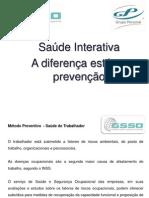 Saúde Interativa - Grupo Personal - Apresentação