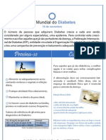 Informe - Dia Mundial Do Diabetes