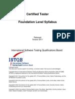 1-Istqb Foundation Level Syllabus 2011 mMm (1)