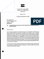 Public File of Colorado General Assembly Joint Rule 36 Ethics Committee Investigation Regarding Joe Neville