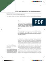Proteinúria – marcador clássico de comprometimento glomerular