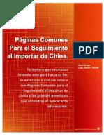 Páginas Comunes Para el Seguimiento al Importar de China