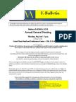 ADWA - AGM 2013 - Announcement