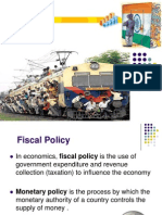 Indian Economy - Fiscal Policy