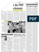 2000.01.23 - Falta de estrutura compromete a fiscalização nas estradas - Estado de Minas
