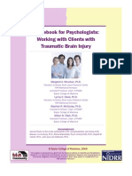 Therapy for Traumatic Brain Injury