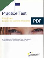 Euroexam B2 Practice Test