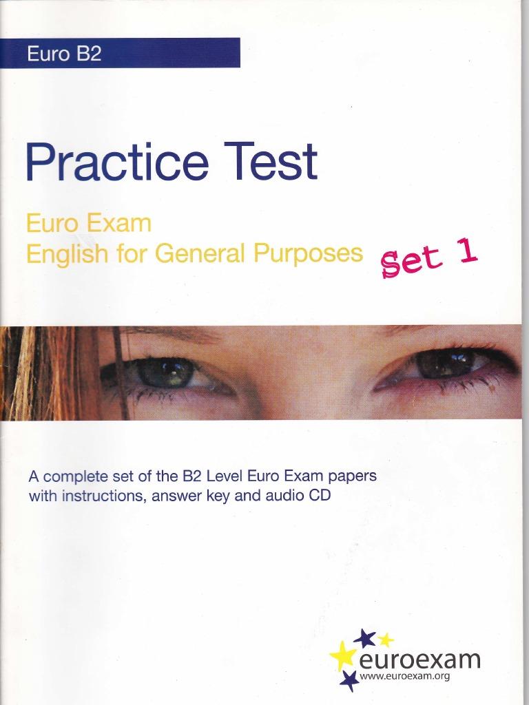 Book b2 ecl practice examination