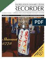 The Recorder 2013 Apr May Jun