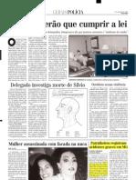 2000.11.07 - Patrulheiros Registram Acidentes Graves Em MG - Estado de Minas
