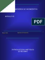 Modulo XI - Introduccion a Metodos de Recuperacion Mejorada