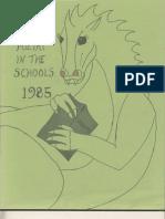 Arkansas Poetry in the Schools (1984-1985)