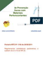 Treinamento Plano Prevencao Perfurocortante SBPC 4