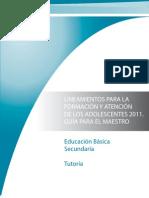 orientacion y tutoria 2011