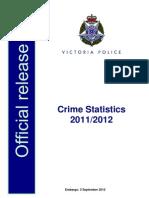 Crime Statistics 2011 12