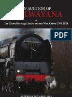Railwayana Auction Catalogue