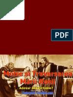 MOISE Si Traversarea Marii Rosii - Dana