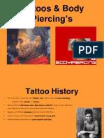 Tattoos Body Piercings