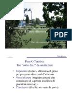 La Programmazione Nel SG Intervento Bellinzaghi (FC Inter ) Fase Offensiva 2011